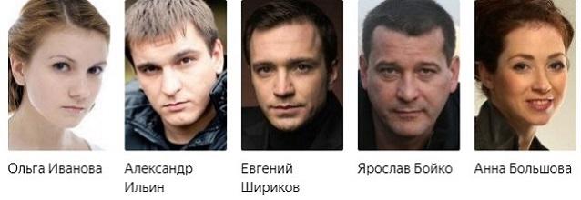 Вернись в Сорренто сериал актеры