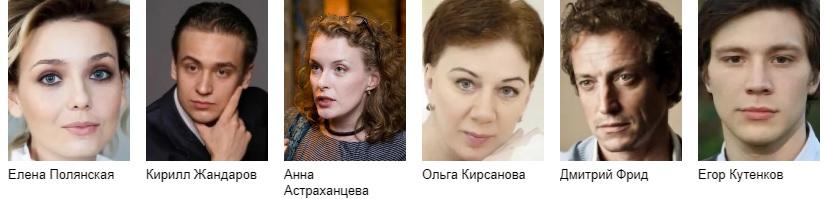 Женщина в зеркале сериал 2018 актеры