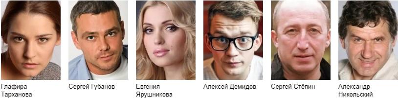 Синичка первый сезон актеры