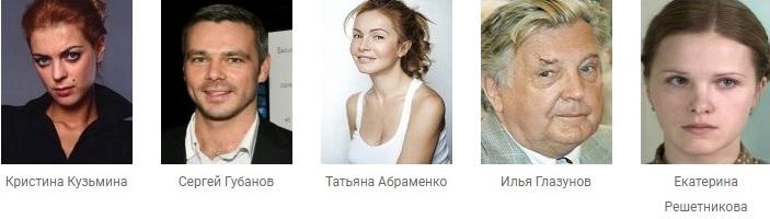 Гостья из прошлого фильм актеры