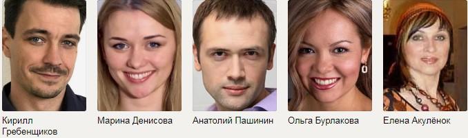 Замок на песке Россия актеры